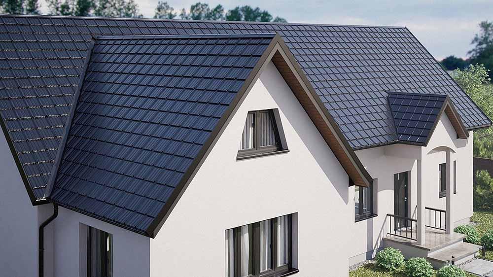 Estima je škridlová krytina, ktorá dokáže podtrhnúť jedinečnosť vášho domu a zároveň je zárukou dlhej a bezproblémovej životnosti vašej vysnenej strechy