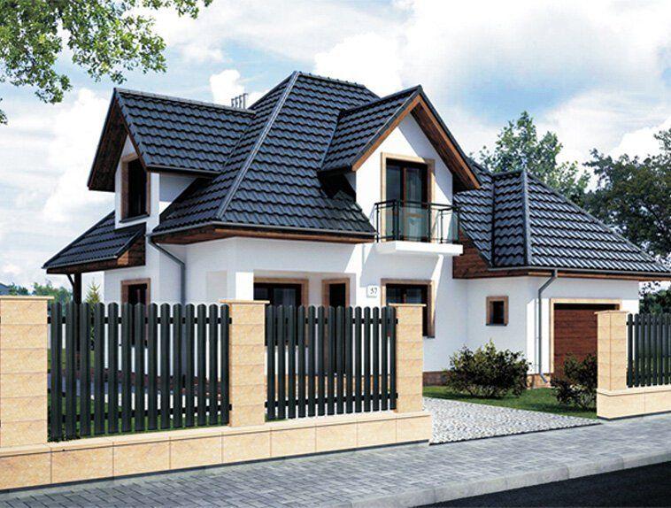 Plechové plotové lamely od spoločnosti Blachotrapez sneporovnateľne nižšími nárokmi na údržbu adlhšou životnosťou.